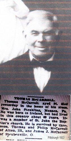 Thomas McCardle McCarroll