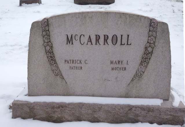 Patrick And Mary Quinn McCarroll